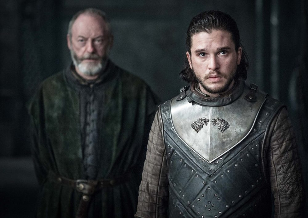 "Here's the one scene from the latest ""Game of Thrones"" episode that almost killed Kit Harington"
