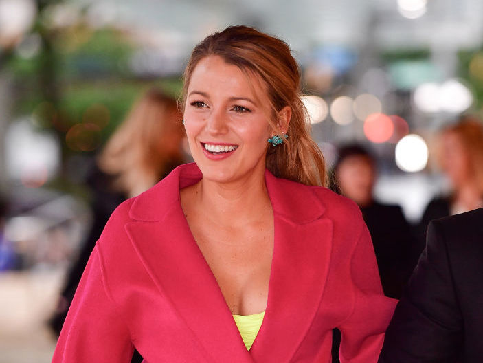 Blake Lively wore the only pair of $40 Old Navy jeans you'll ever need