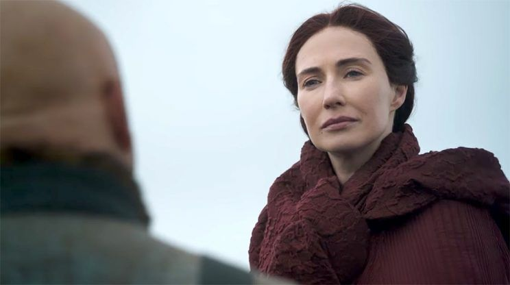 We need to talk about that sketchy cliffside conversation between Melisandre and Varys