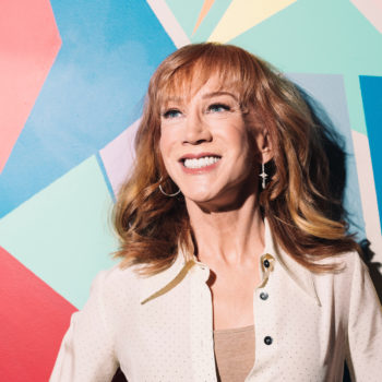 Kathy Griffin just shaved her head for the most beautiful of reasons