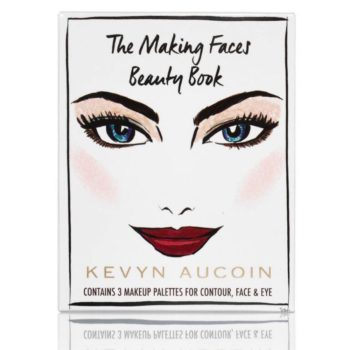"""Kevyn Aucoin Beauty launched a palette inspired by the makeup artist's iconic book, """"Making Faces"""""""