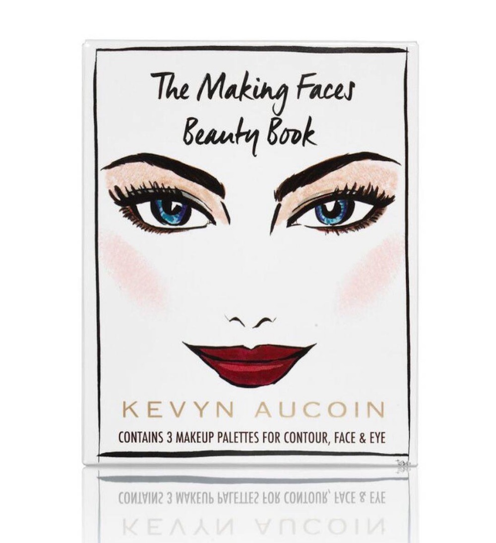 "Kevyn Aucoin Beauty launched a palette inspired by the makeup artist's iconic book, ""Making Faces"""