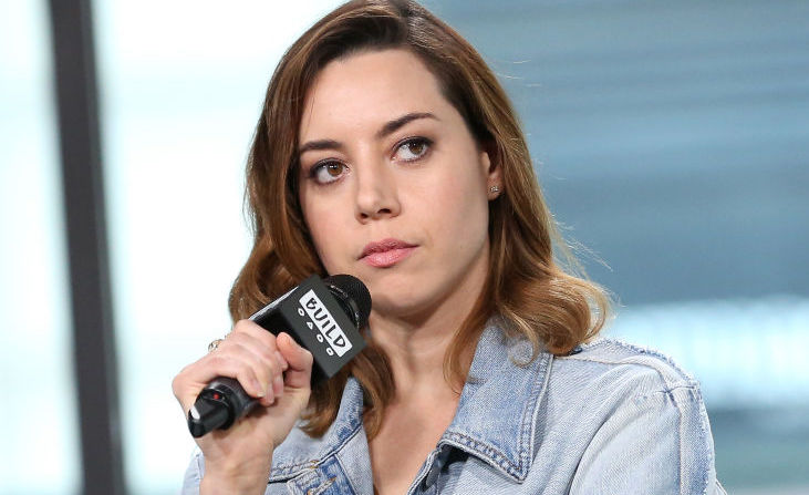 "Aubrey Plaza has feelings about fans on the street who expect her to be ""weird"""