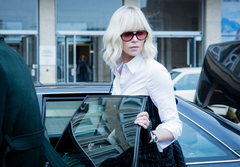 "Charlize Theron kicks ass in ""Atomic Blonde"" — without sacrificing her style"