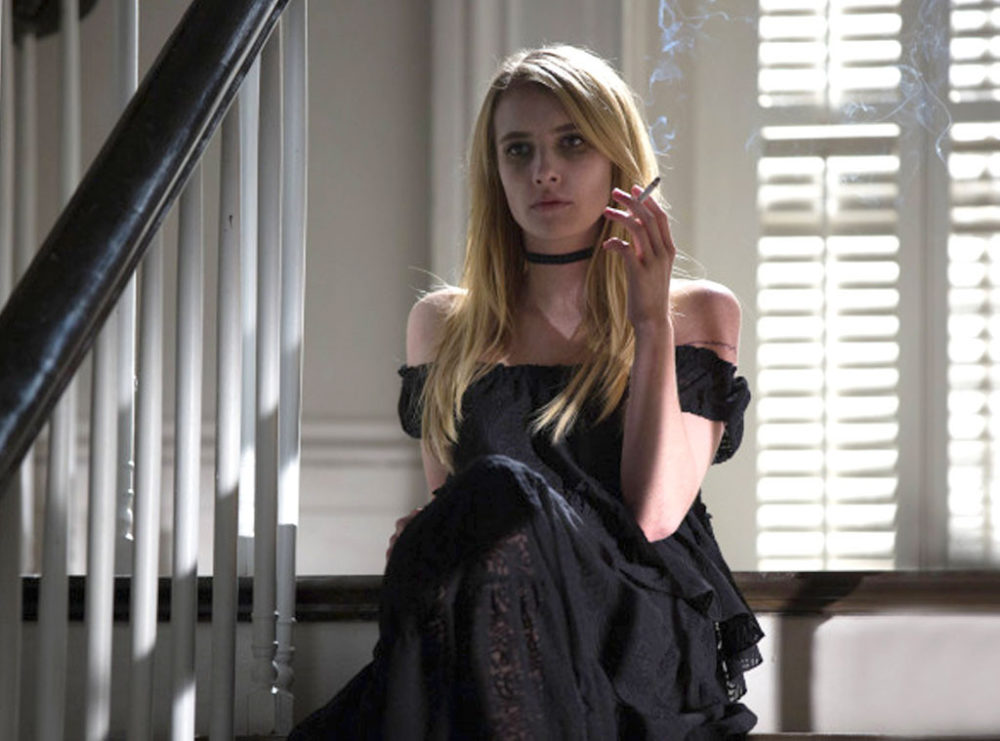 """Emma Roberts's """"American Horror Story"""" character has been revealed, and it's one she's joked about playing for a while now"""