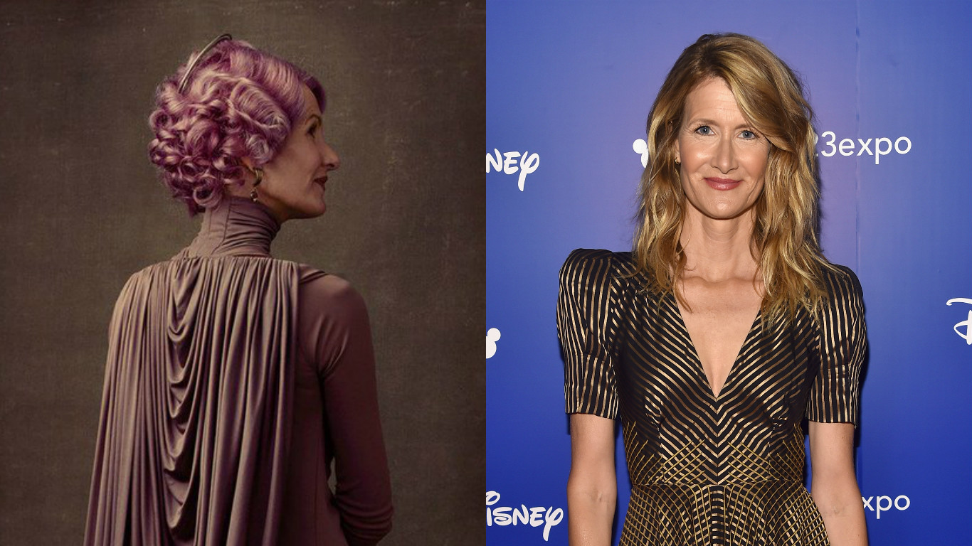 "HerUniverse will have designs based on Laura Dern's character in ""The Last Jedi,"" and this is all I want in life"