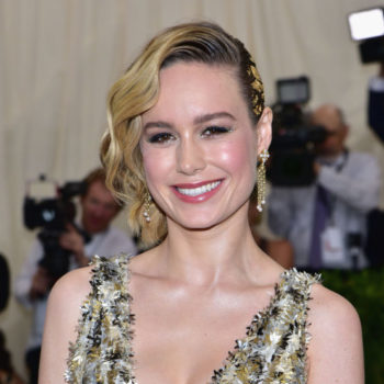 Brie Larson's sunset sandals are the only shoes we want for the end of summer