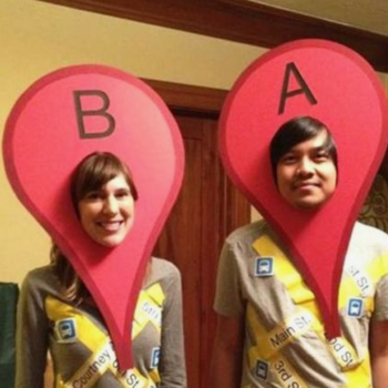 4 clever couples costumes that you can easily DIY
