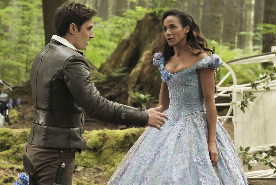 "Dania Ramirez says it's groundbreaking to play Cinderella on ""Once Upon a Time"" as a Latina actress"