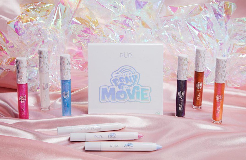 Nostalgia alert: Pur Cosmetics is launching a whimsical My Little Pony makeup collection