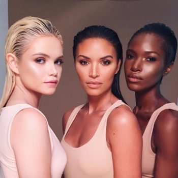 This sneak peek of KKW Beauty's new product makes us believe a highlighter is on the way