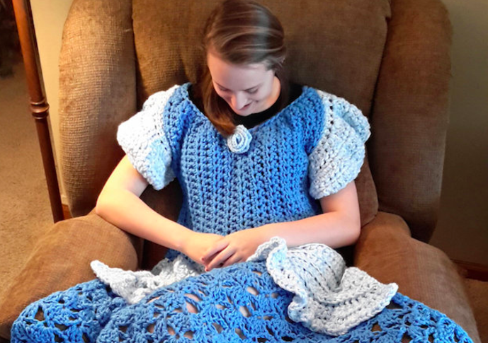 These Disney Princess blanket patterns you can find on Etsy will make you feel like cozy royalty