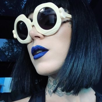 You're gonna want to get up at the crack of dawn for this NEW Kat Von D Beauty Glimmer Veil lipstick