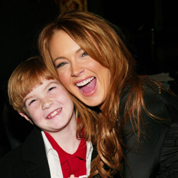 """Stop everything: Lindsay Lohan's little brother is all grown up and modeling for """"Vogue"""""""
