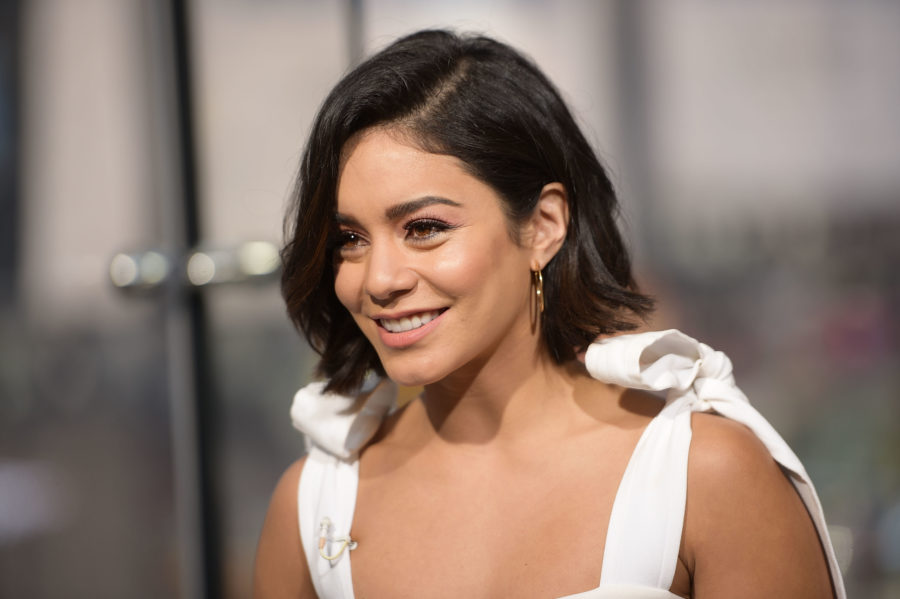 Vanessa Hudgens just debuted the bluntest of bangs, and now we want them too