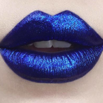 Feast your eyes on these swatches of Kat Von D Beauty's Glimmer Veil lipstick collection