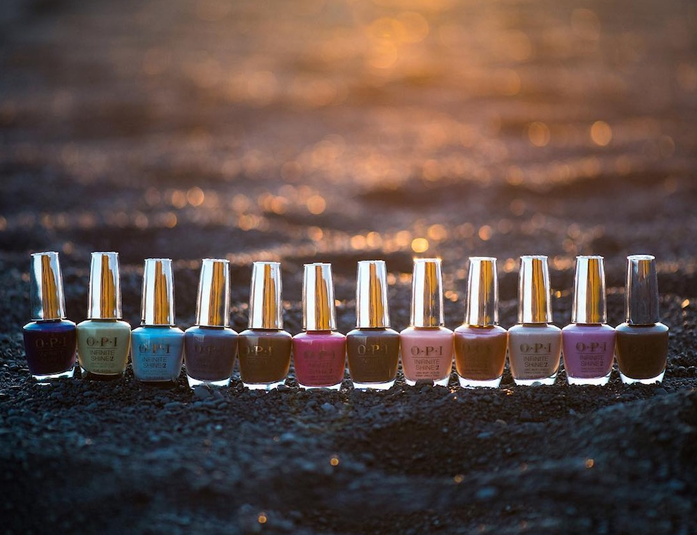 OPI's new nail polish collection was inspired by Iceland's majestic landscapes