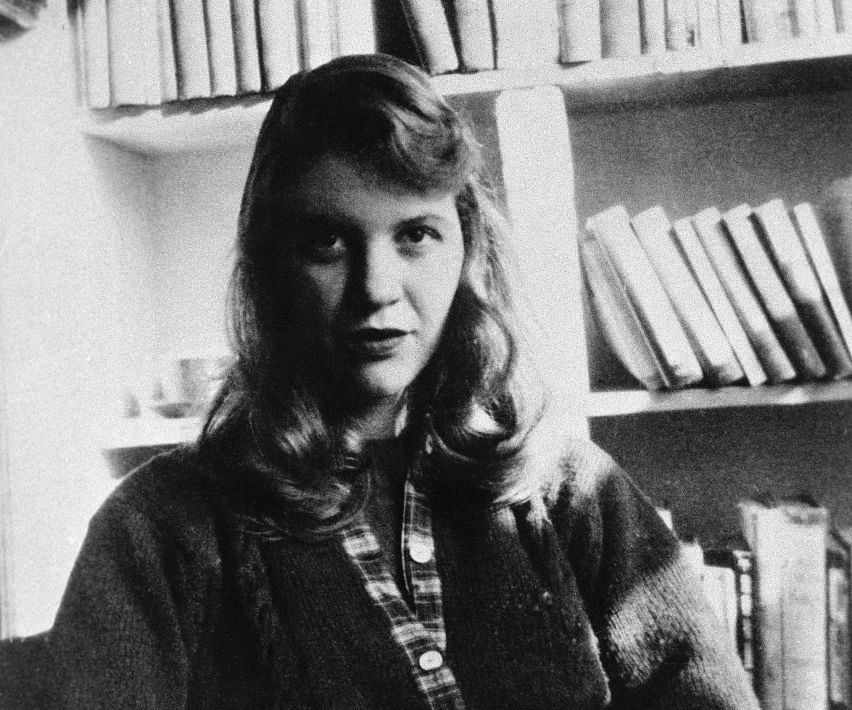 Sylvia Plath's artwork is on display at the Smithsonian, and road trip?