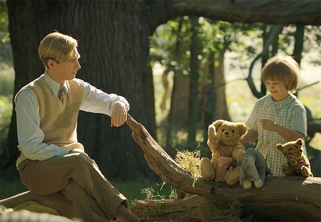 "The new ""Goodbye Christopher Robin"" trailer offers a look into Winnie the Pooh's origin story"
