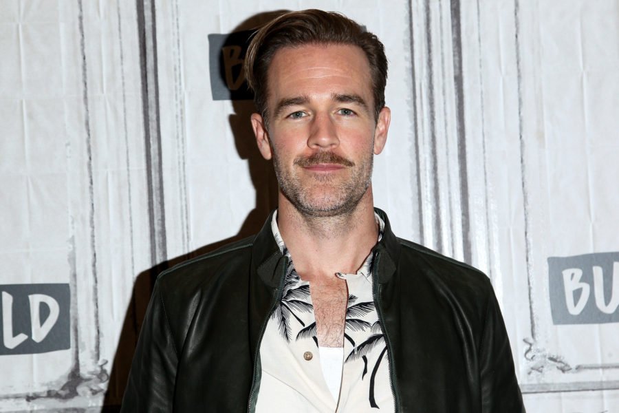 "James Van Der Beek JUST found out how Jen died on ""Dawson's Creek"""