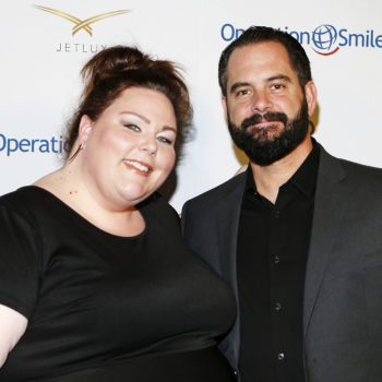 "Chrissy Metz got real about what it's like filming ""This Is Us"" love scenes in front of her BF"