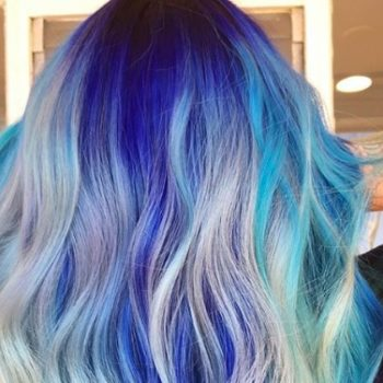 This woman tried to give herself unicorn hair at home, and she ended up in the hospital with severe scalp burns