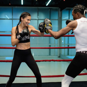 I tried the intense boxing class that Victoria's Secret models swear by