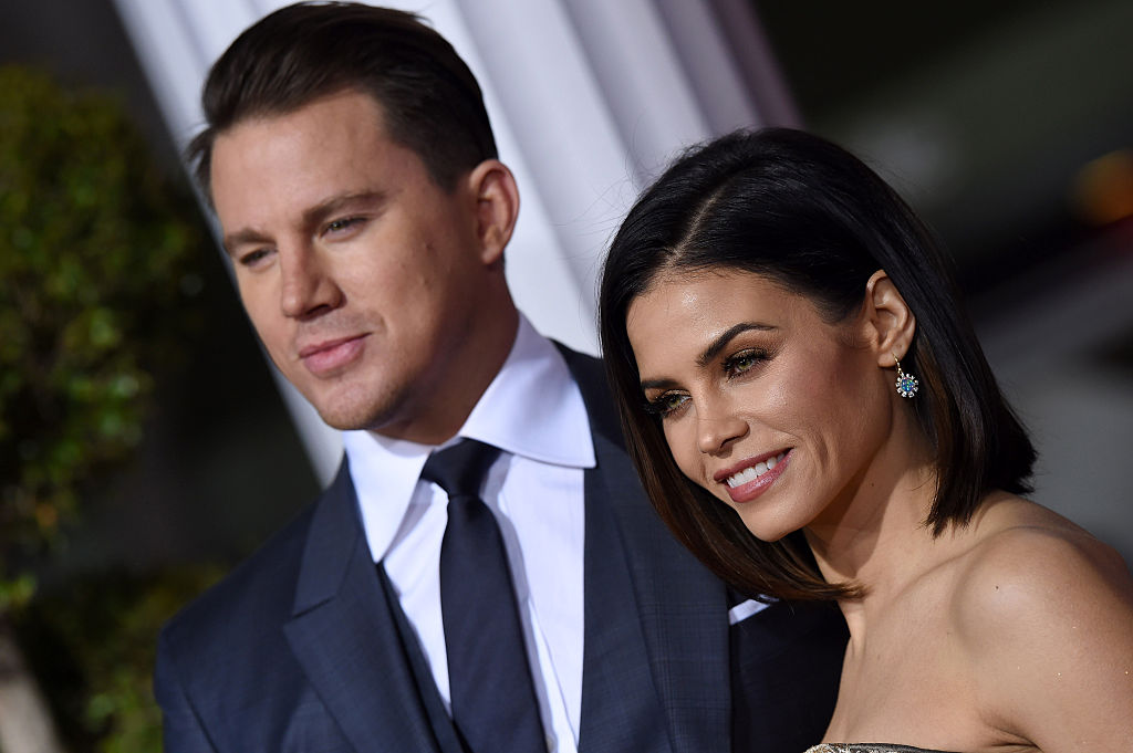Jenna Dewan Tatum's look from last night makes us wonder why we don't wear feathers more often