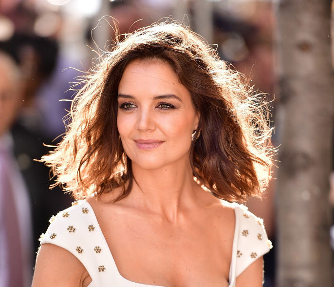 Katie Holmes' outfit is a reminder that the Canadian tuxedo trend will outlive us all