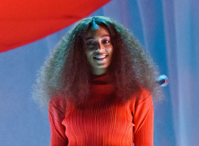 Solange got a chance to perform with her teenage crush