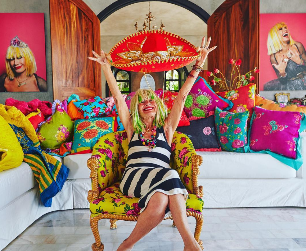 You can rent Betsey Johnson's fabulously eclectic Mexican villa on Airbnb
