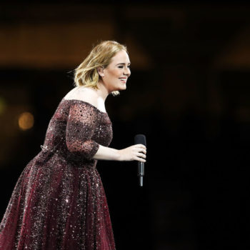 """Adele hosted a surprise """"Despicable Me 3"""" screening for the children affected by the Grenfell Tower fire"""