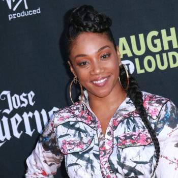 """""""Girls Trip"""" star Tiffany Haddish rocked a clutch with a message that's making us yell """"YASS, queen!"""""""