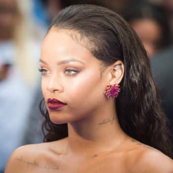 Rihanna just debuted turquoise hair, and she's basically a mermaid now
