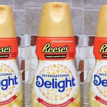 Reese's Peanut Butter Cup Creamer is here to make all your coffee dreams come true