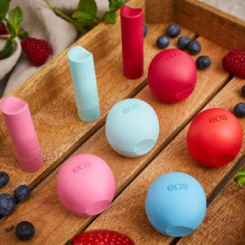 We just figured out what EOS stands for, and we almost dropped our lip balm