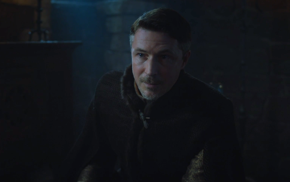 "We need to talk about the one line in ""Game of Thrones"" that left Littlefinger SHOOK"