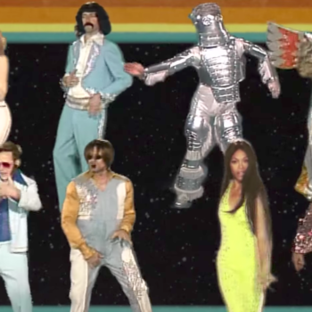 The Guardians of the Galaxy released a perfectly cheeky and campy music video