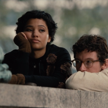 "Watch Kiersey Clemons and Callum Turner hold a stakeout in this ""The Only Living Boy in New York"" clip"