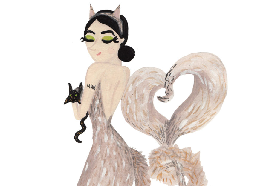 We're combining cats and mermaids, two of our favorite things