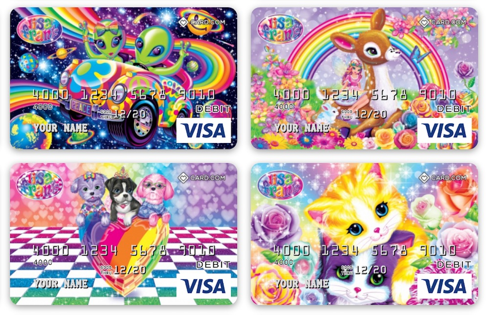 This is not a drill: Lisa Frank debit cards exist