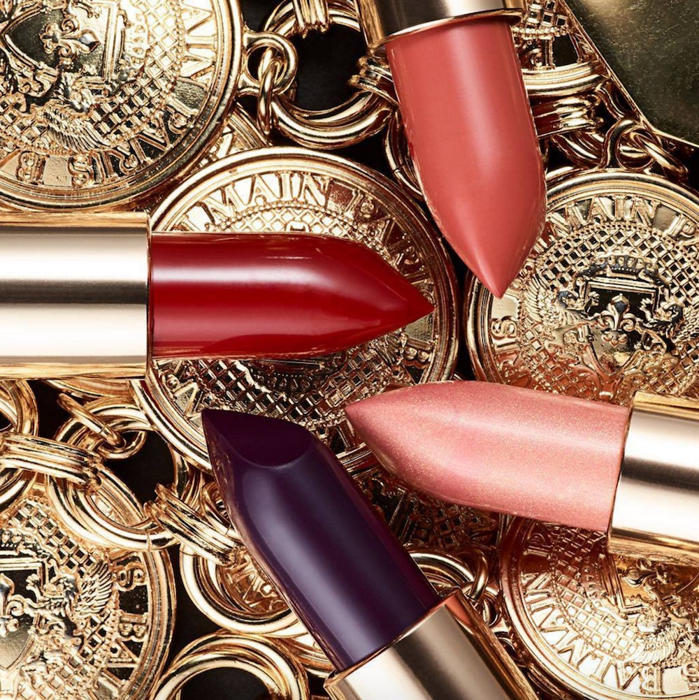 Here's a first look at all of the lipstick shades from L'Oréal x Balmain collection