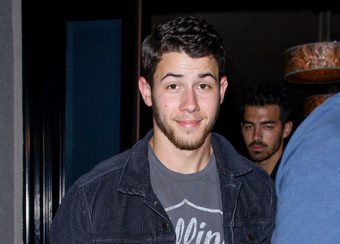 Nick Jonas casually reunited with his ex in matching denim outfits, as you do