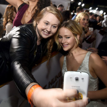 Jennifer Lawrence won't take fan selfies for a pretty relatable reason
