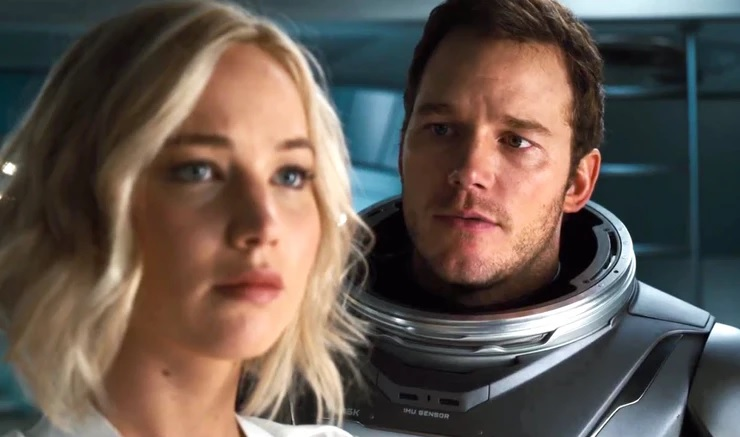 "Jennifer Lawrence said what she'd have done differently in ""Passengers"""