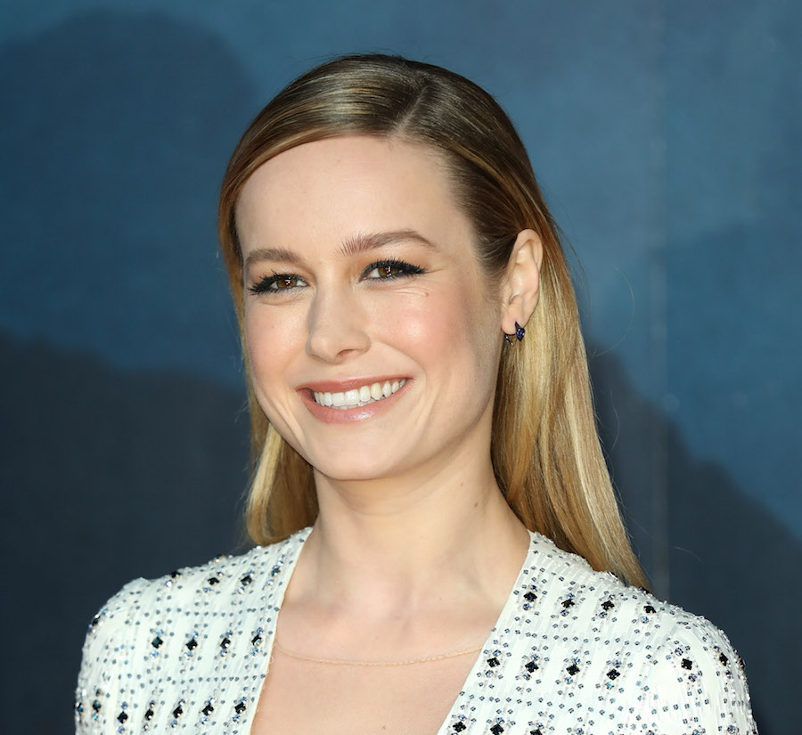 "Brie Larson is making the ""accordion purse"" a trend for fall 2017"