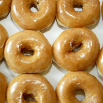 """Krispy Kreme's new """"solar eclipse doughnuts"""" are covered in chocolate darker than the infinite universe"""