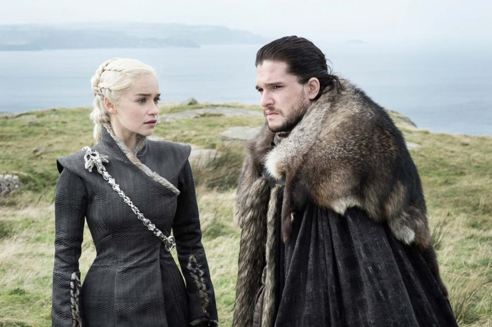"It looks like Dany and Jon are growing closer in these new ""Game of Thrones"" images"
