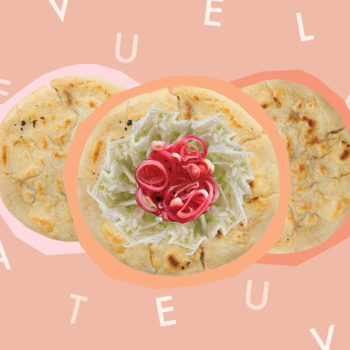 When you understand but can't speak, just eat pupusas