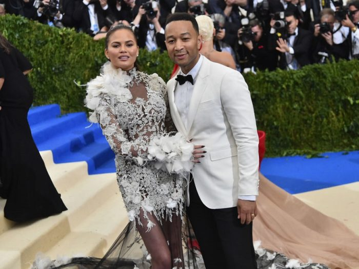 John Legend's daughter watches his visit to 'Sesame Street'